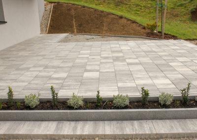 Betonpflaster Linea 60/30/8 cm Granitgrau-schattiert